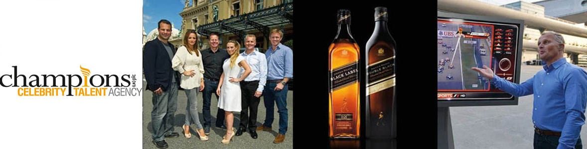 Johnnie Walker Whisky & Johnny Herbert