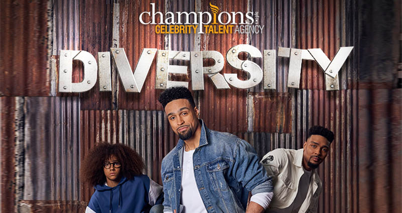 Champions Celebrity Talent Partner With Diversity