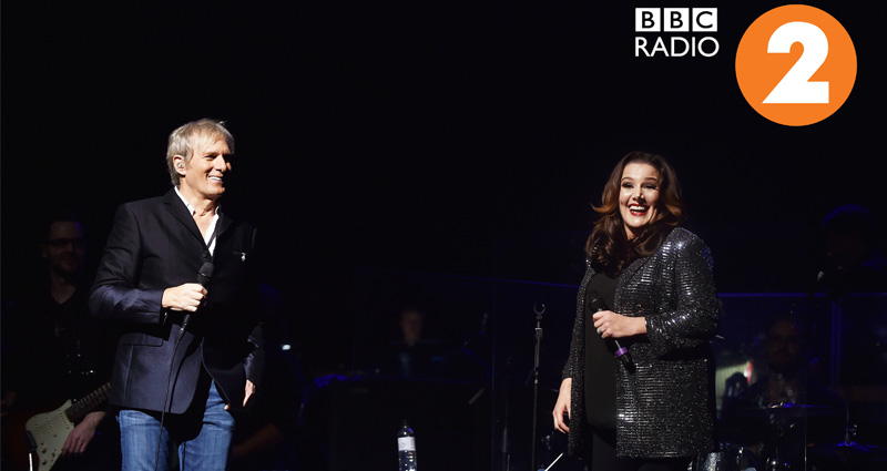Sam Bailey and Michael Bolton
