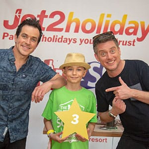 Various celebrities & Jet2 Ultimate School trip