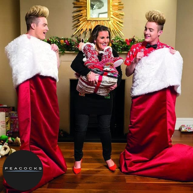 sam bailey and Jedward