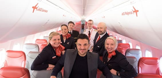 Peter Andre Jet2